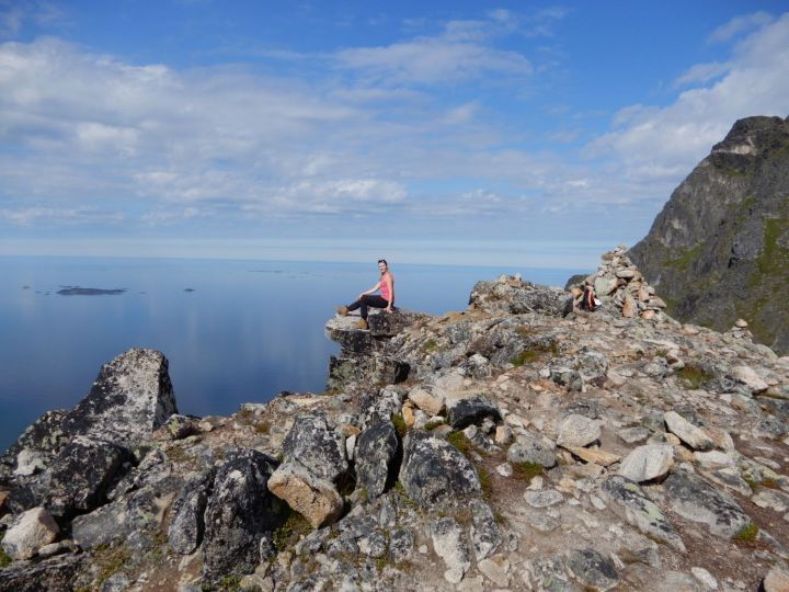 Finding high places – Bromorstinden, Tromso, Norway