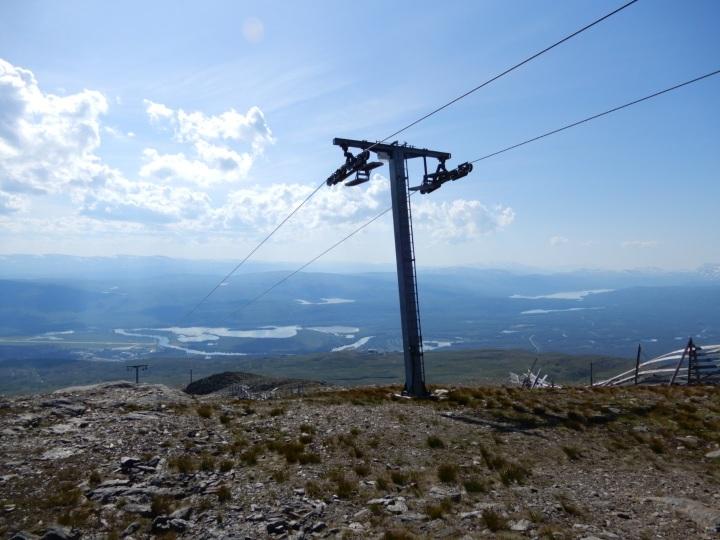 Finding high places – Hemavan,Sweden