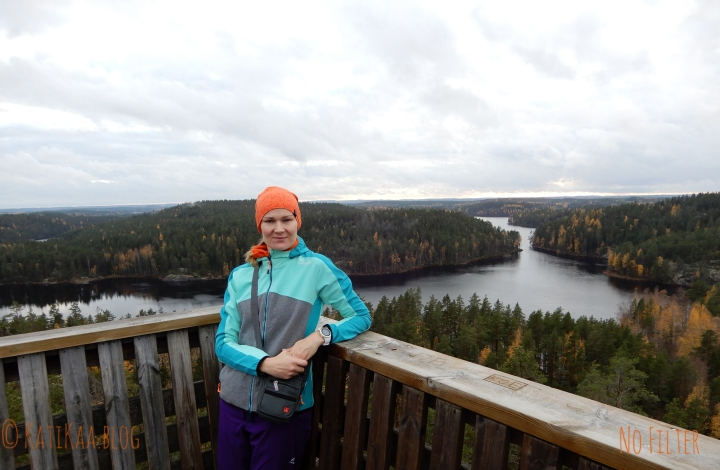 Finding high places – Repovesi National Park