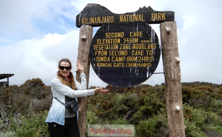 Kilimanjaro – Day 4/10 – Simba camp to Second cave camp